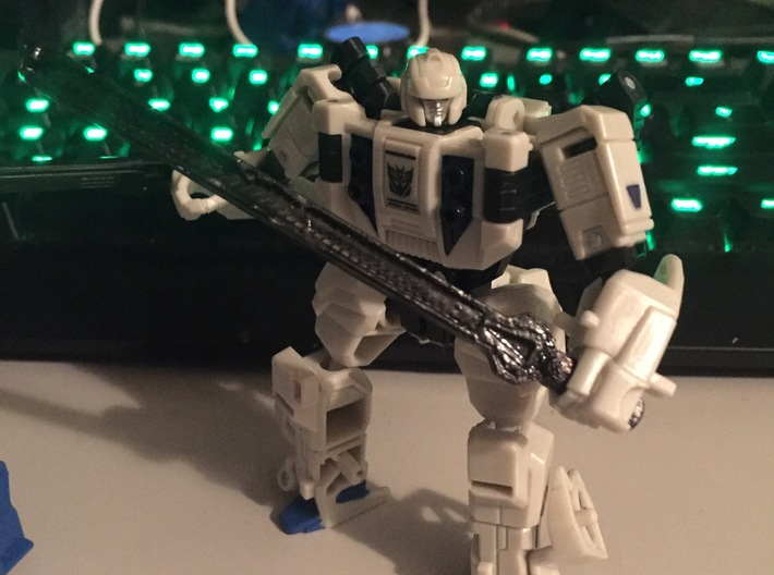 POTP Battleslash & Roadtrap Weapons 3d printed