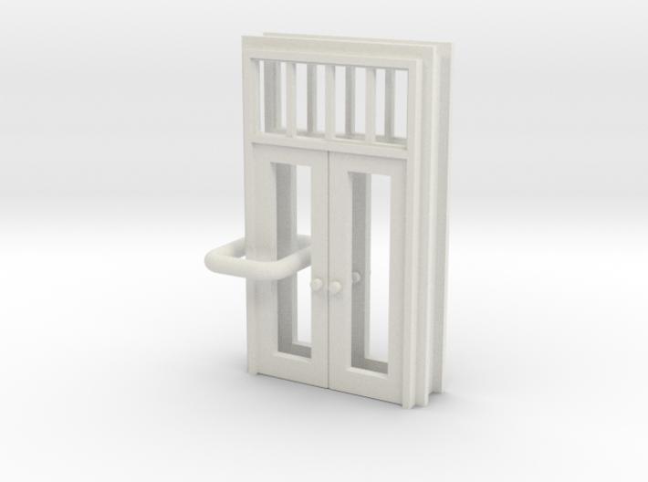 SP Door Type 1 x 2 scaled 3d printed