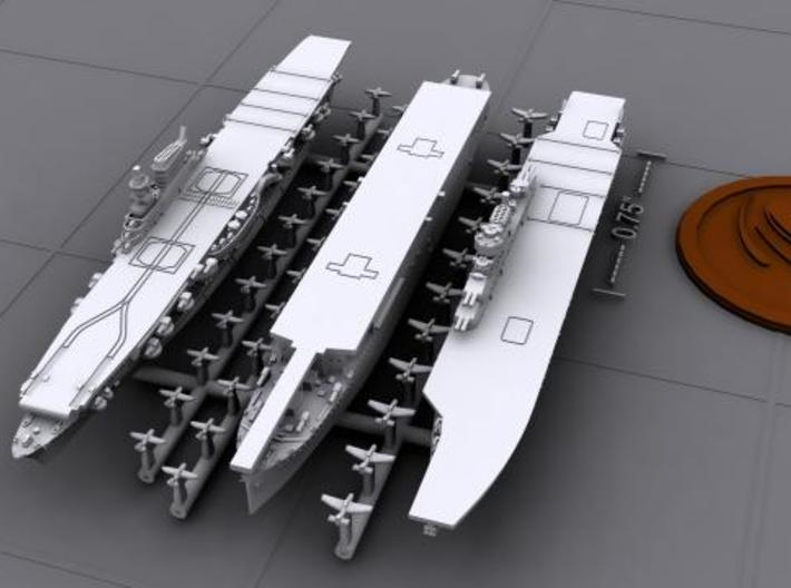 48IT06 Italian Navy WWII Aircraft Carriers 3d printed