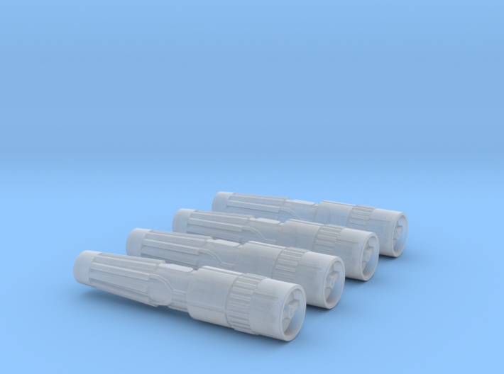 Engines style 2 pack 270th 3d printed