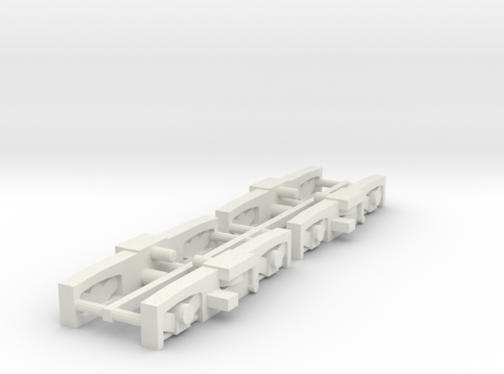 #160-8130 truck frames for SEPTA N5 3d printed