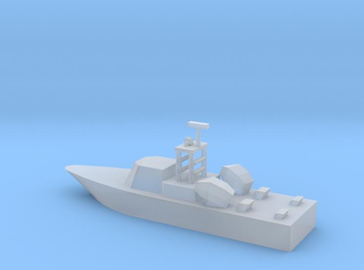 1/700 Scale Dvora Fast Patrol Boat 3d printed