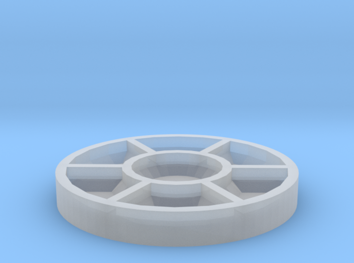 Travel Sized - Watercolor Mixing Dish 3d printed
