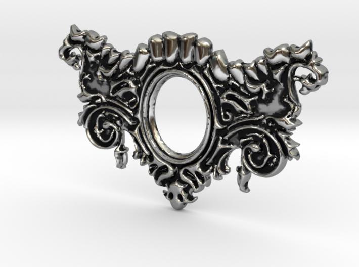 Mandibula Pendant 3d printed