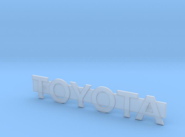 RCN055 Logo for Toyota 4Runner from PL 3d printed