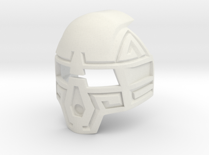 Kanohi Komau Prototype 3d printed