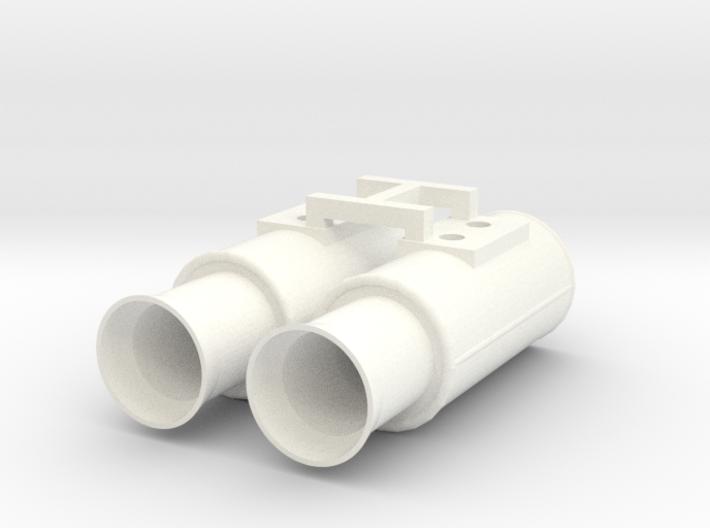 1:10 Drift Exhaust - GP Flared set 3d printed