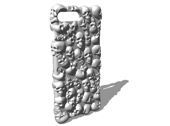 iPhone 7 Plus - Skull Case Full 3d printed