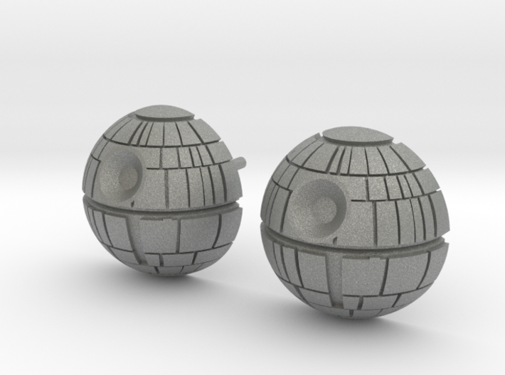 Death Star Studs 3d printed
