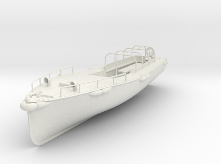 1/35 IJN Hull for Motor Boat Cutter 11m 60hp 3d printed