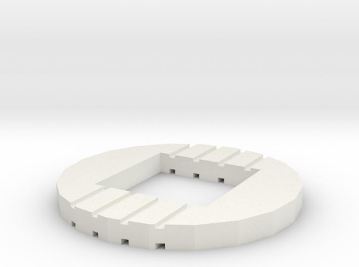XTB - MM-IX Klatuu - Buttom base light adapter 3d printed