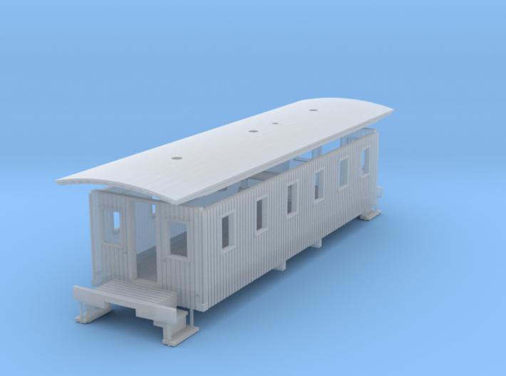 Virginia & Truckee Miner's Caboose N Scale 3d printed