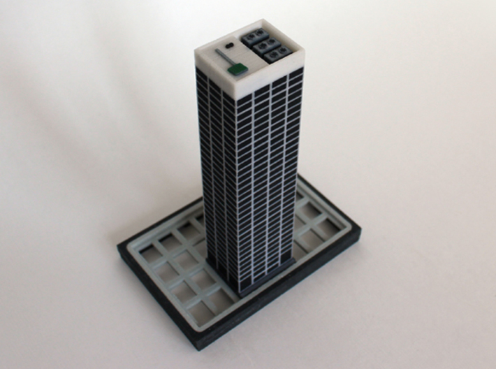 Office tower 3x2 3d printed