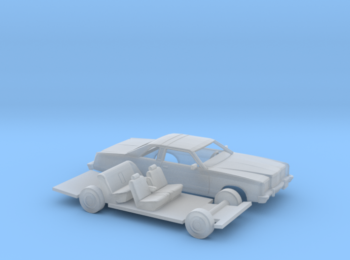 1/160 1975-78 Ford Ltd Coupe Kit 3d printed