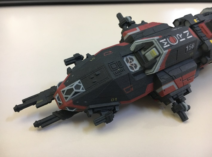 The Expanse Rocinante - 300mm Full Colour 3d printed