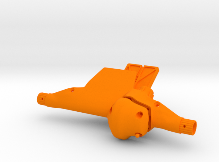 Front Axle type AR60 - F60001 3d printed