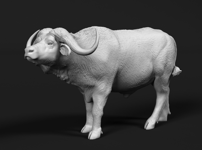 Cape Buffalo 1:45 Standing Male 2 3d printed