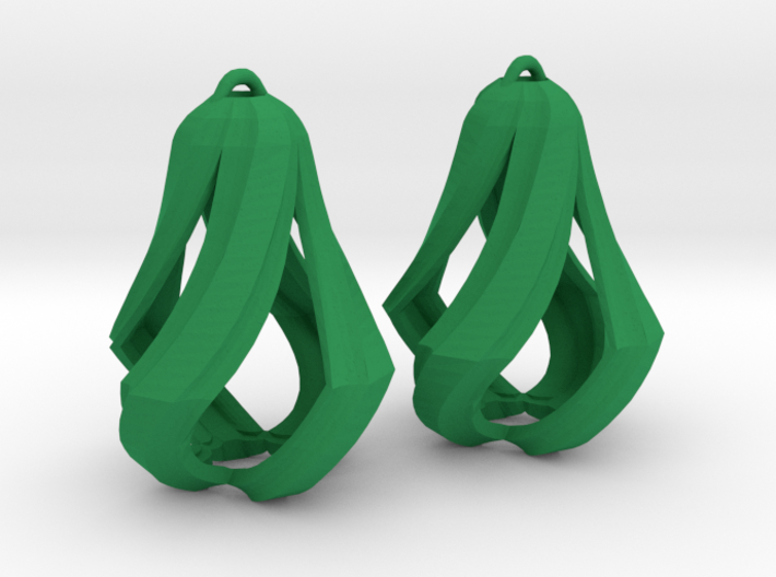 Edge Droplet twister 3d printed