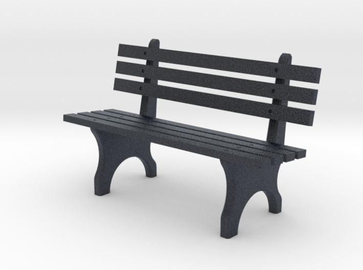 Park Bench N scale 3d printed