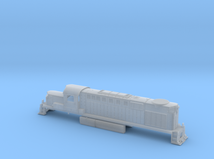 ALCO RSD-15, Southern Pacific/Cotton Belt version 3d printed
