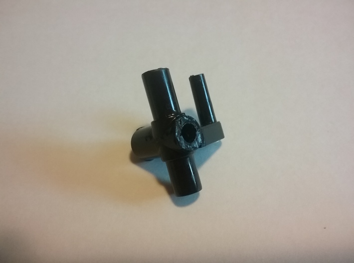 Maisto Extreme Beast Front Upright Spindle Set 3d printed Photo of original part