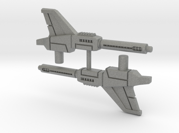 Brainstorm's Photon Pulse Cannons (pair), 5mm 3d printed