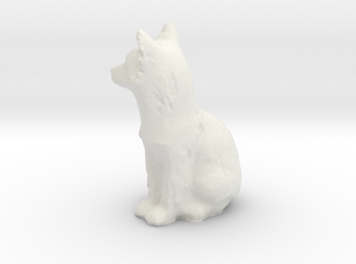 S Scale fox 3d printed This is a render not a picture
