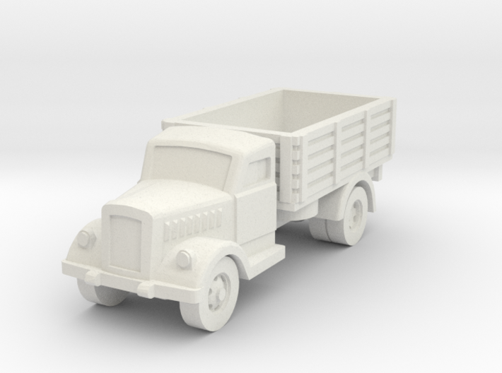 opel blitz scale 1/100 3d printed