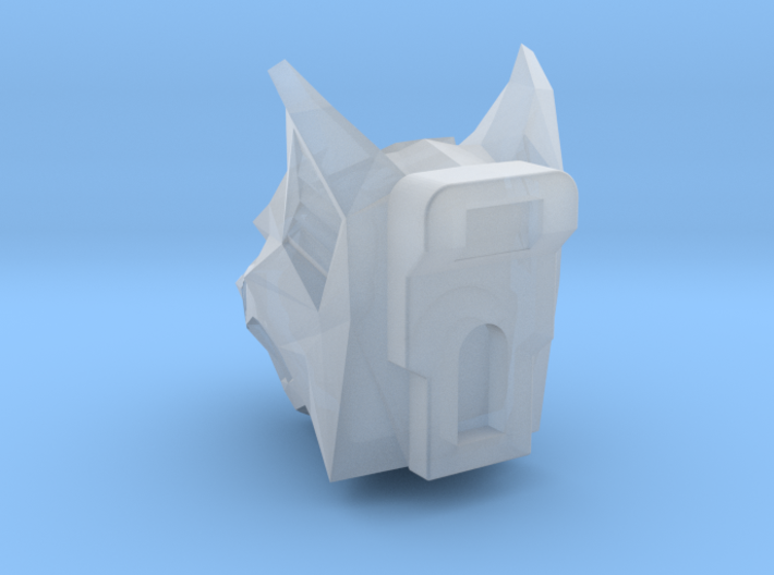 Wolf Head for Armiger-scale Knight 3d printed