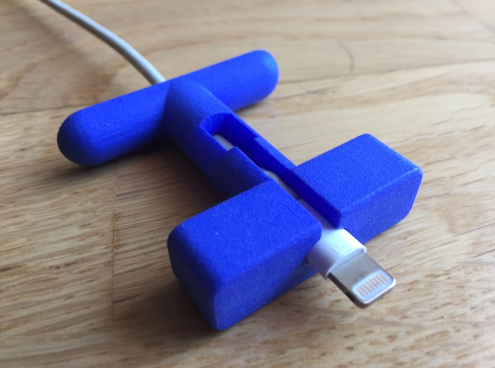 HEBDI Apple Lightning 3d printed HEBDI Apple Lightning Original cable (not included)