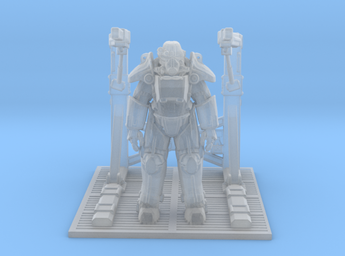 Power Suit Station 3d printed
