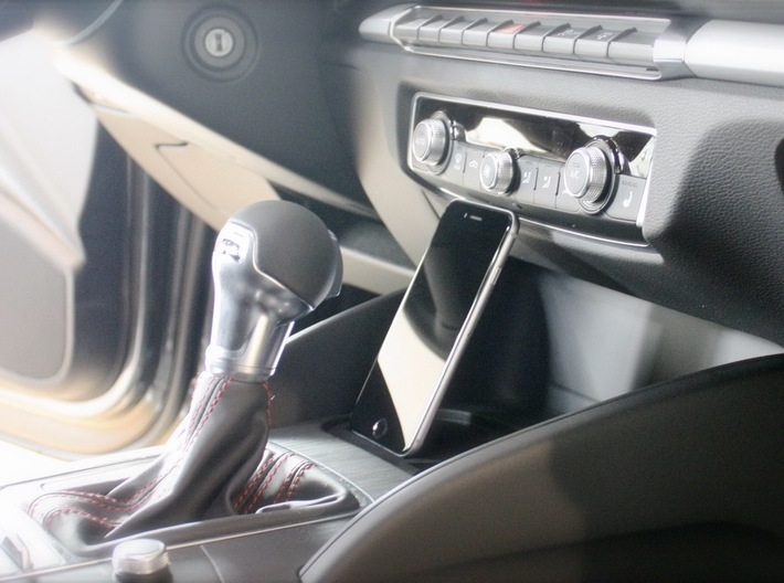 Audi Q3 iPhone car mount, holder, adapter 3d printed