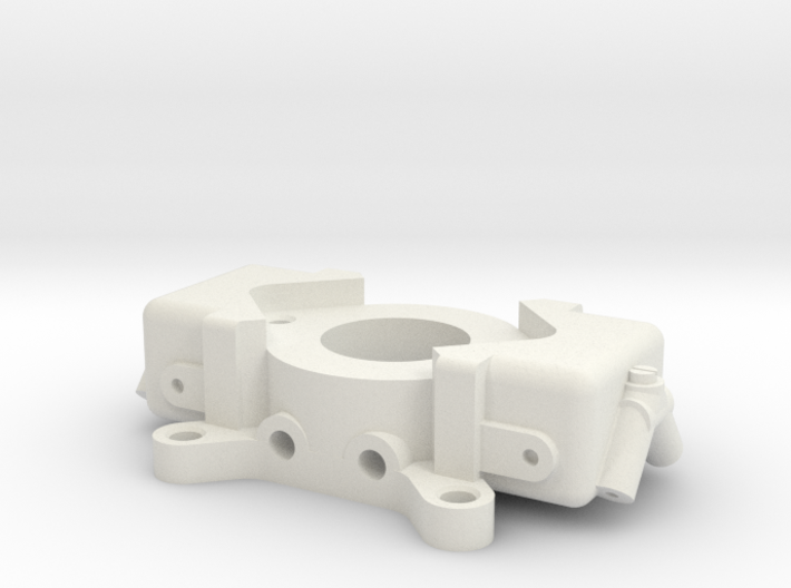 Carburetor (type 2) for velocity stack mount. 3d printed