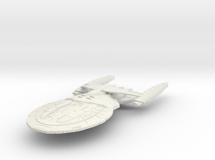 Hood Class BattleShip 3d printed