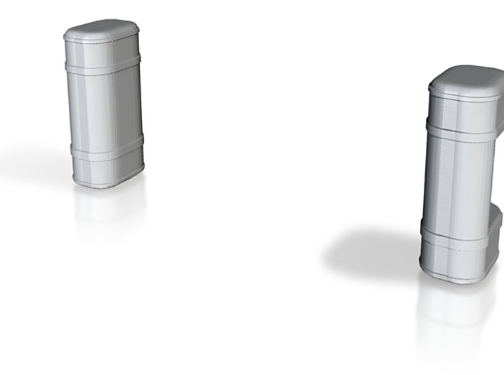 1/64 scale fuel tanks 3d printed