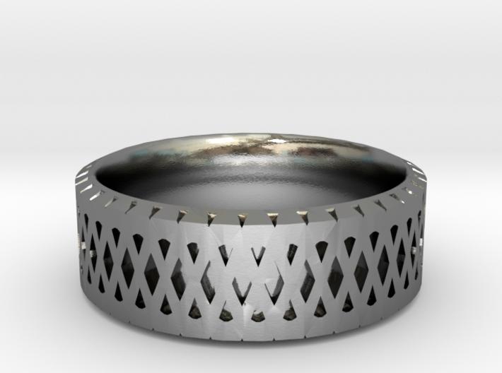 Filigree Ring 3d printed