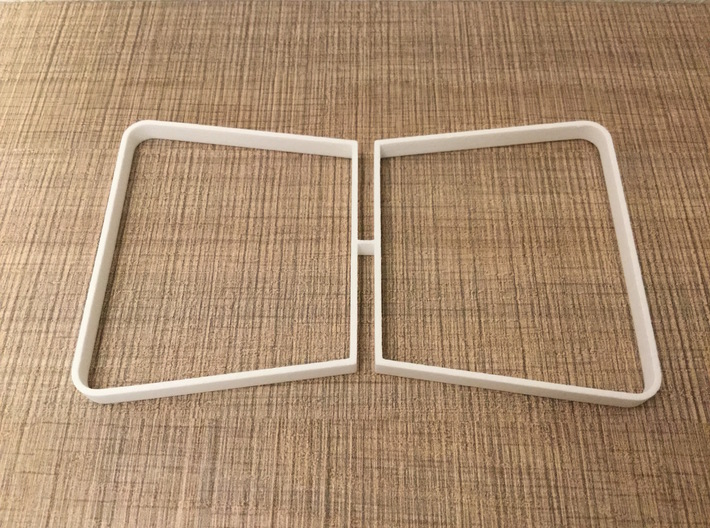 Table legs Trapeze (pair). 1:12, 1:24 3d printed 1:12