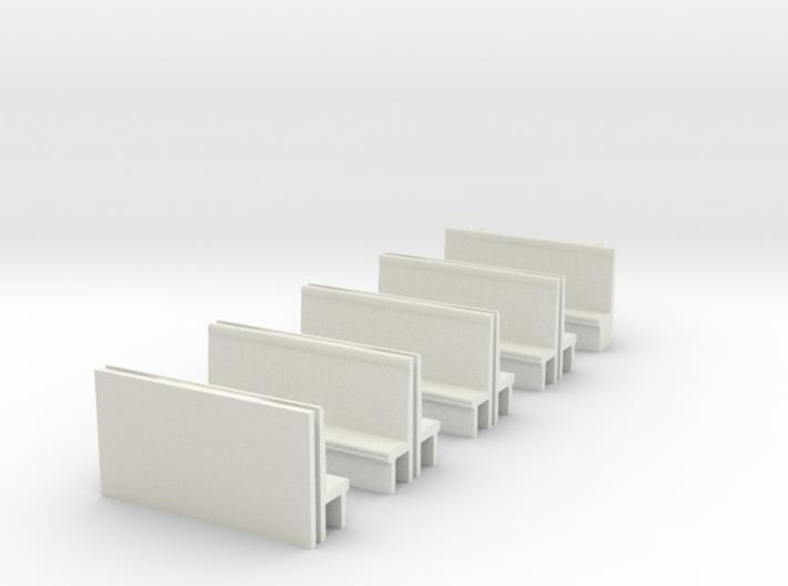 387 Seating, OO 3d printed