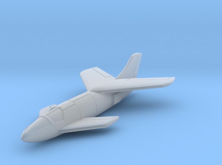 """(1:200) Messerschmitt Me P.1110 """"Ente"""" 3d printed"""