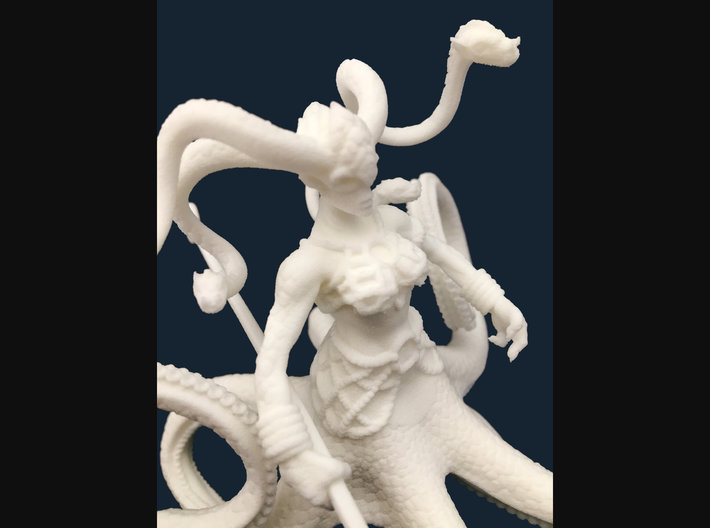 The Queen of the Sea 3d printed
