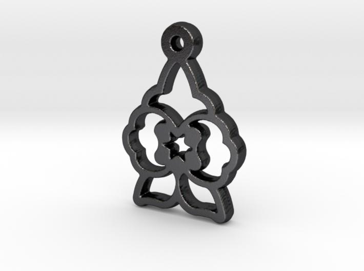 Wolfsbane Charm 3d printed