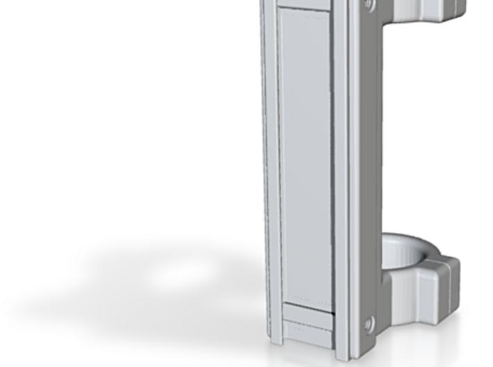 25.4 mm Dual Ring Scope Mount (Raised 20 mm) 3d printed