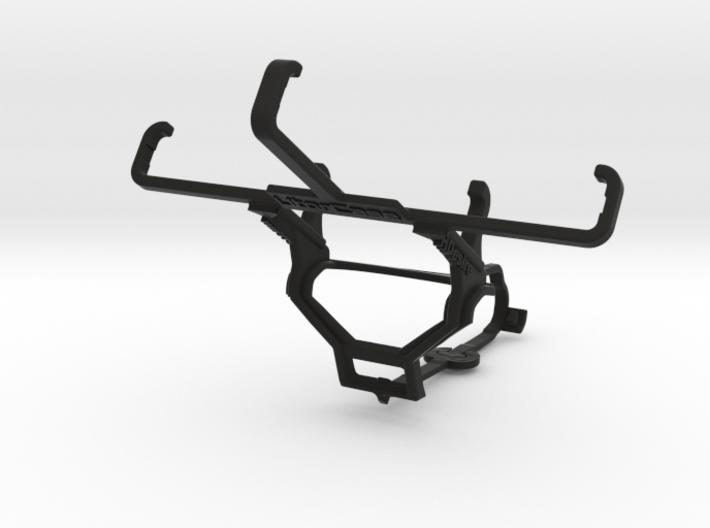 Steam controller & HTC Desire - Front Rider 3d printed