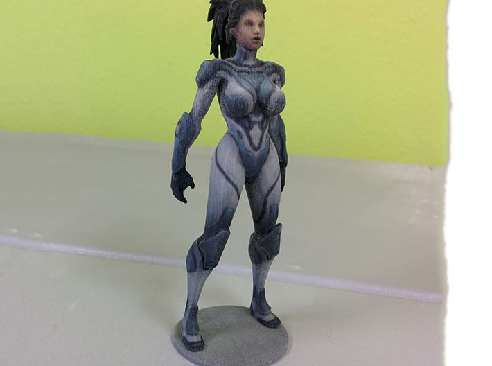 Kerrigan Ghost - 110mm 3d printed