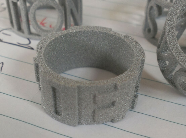 Schrodingers Ring Size 12 3d printed