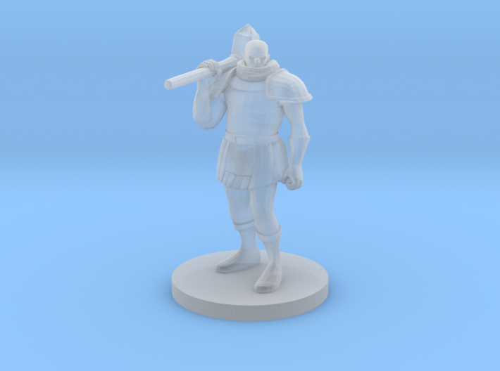 Human War Priest 3d printed