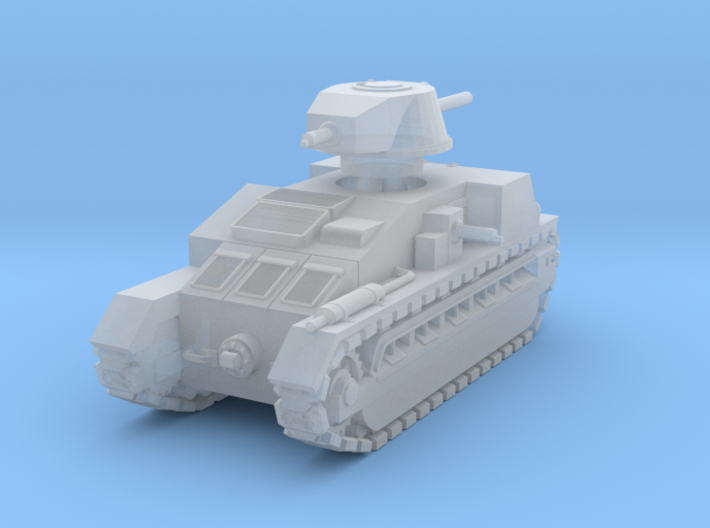 Vickers Medium Mk.C (1:285) 3d printed
