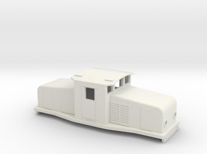 Swedish SJ electric locomotive type Ub - H0-scale 3d printed