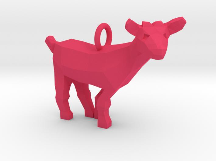 Goat Pendant 3d printed