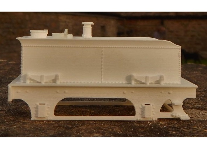 Cambrian 'Albion' SPC Tender - FUD/FXD 3d printed